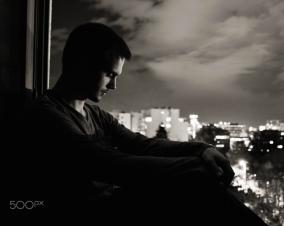 Night selfportrait